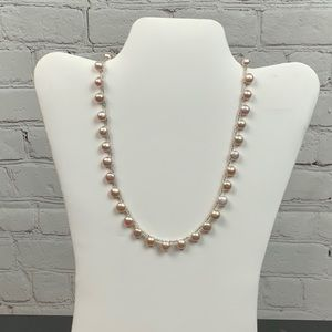 Jewelry - Pearl Necklace with beading